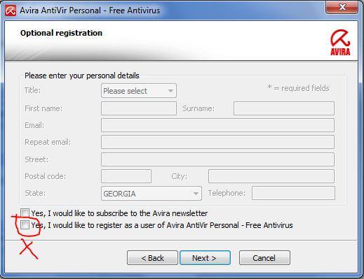 Avira Antivirus Personal Install
